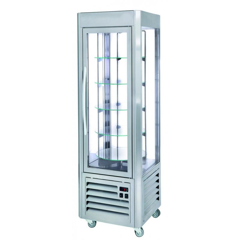 Vitrine réfrigéré fixe ou rotative - INOX