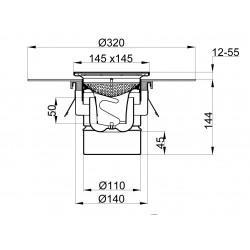 Siphon télescopique TYPE 350