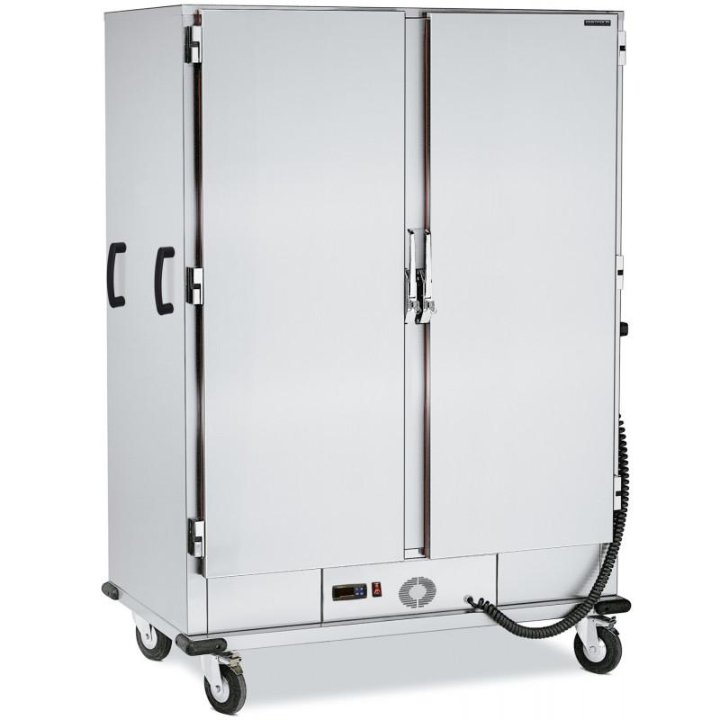 Etuve mobile 2 portes - 2 fois 20 niveaux GN 2/1 - collectivité