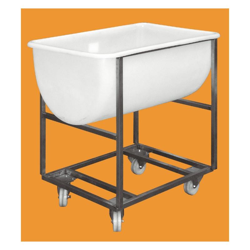 Chariot pour pâtière - 170 litres