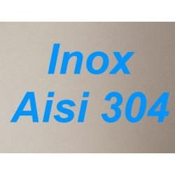 Plonge inox 1 bac + égouttoir à droite et passage Lave-vaisselle