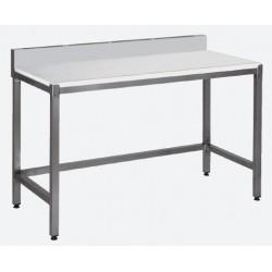 table de découpe adossée sans étagère