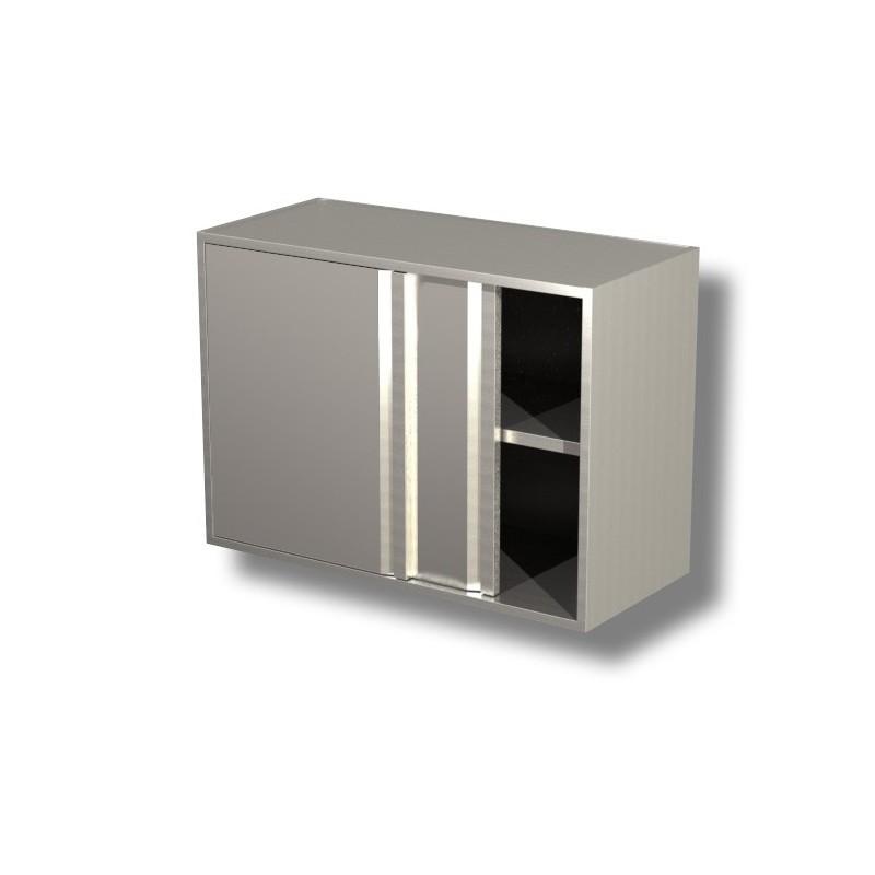 Armoire inox suspendue - Mobilier de cuisine professionnelle