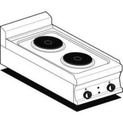 Plan de cuisson 2 plaques électrique