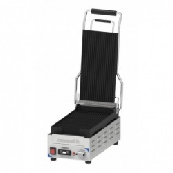 Grill Panini Compact Premium Rainurée - Rainurée Avec Minuteur