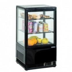 Mini vitrine réfrigérée positive 58 L Noire
