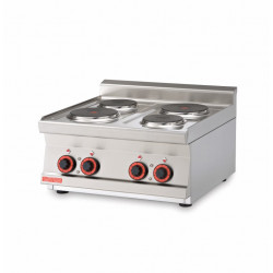 Plan de cuisson 2 ou 4 feux professionnel