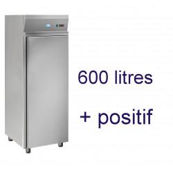 Armoire positive 600 litres avec grilles