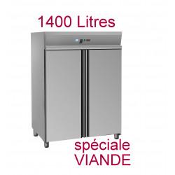 Armoire positive 1400 litres - spéciale viande