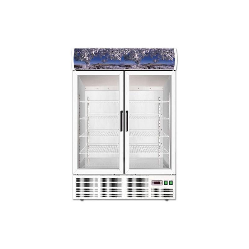 Armoire à boissons réfrigérée vitrée - 2 PORTES