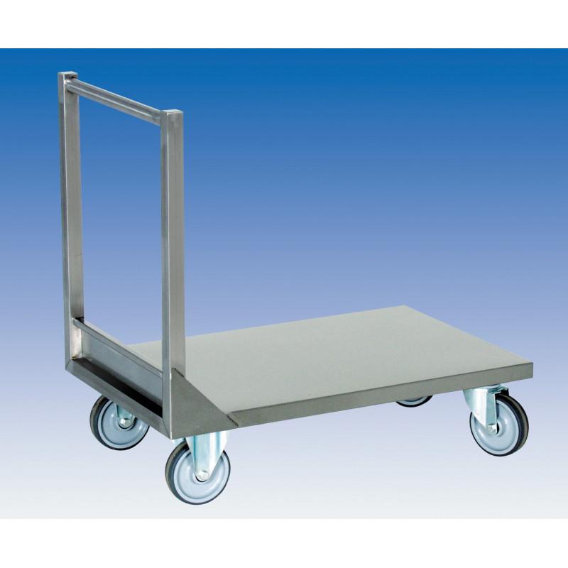 Chariot à plateforme 1 M - PLATEAU PLEIN