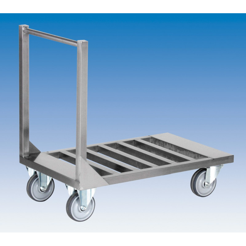 Chariot à plateforme 1 M - PLATEAU CLAIRE-VOIE